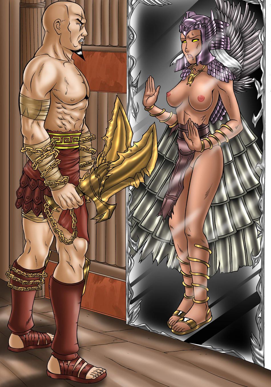 princess of poseidon war god Ghost in my attic 2 comic