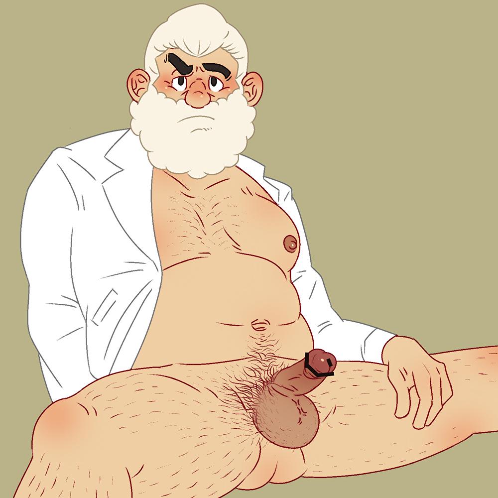 sucking old man tits big Kill la kill and mega man