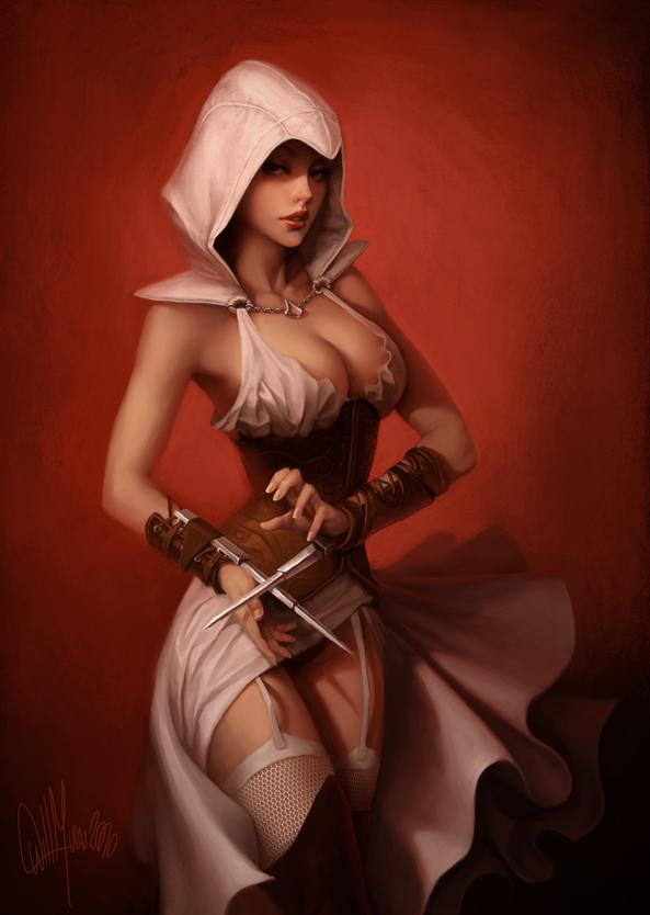 creed unity nude assassin's elise Elodi divinity original sin 2