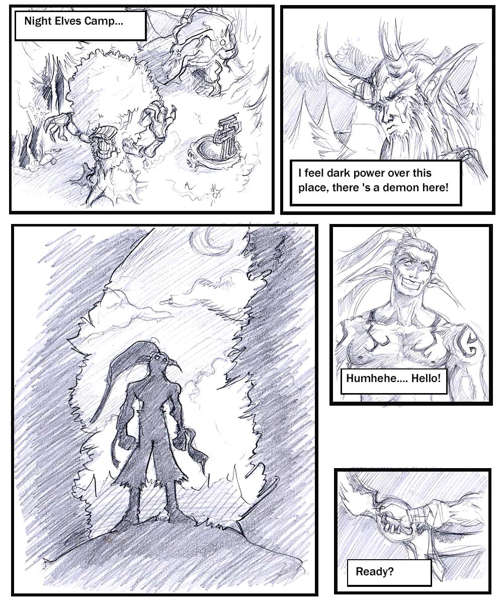 female night demon elf hunter Sin nanatsu no taizai maria