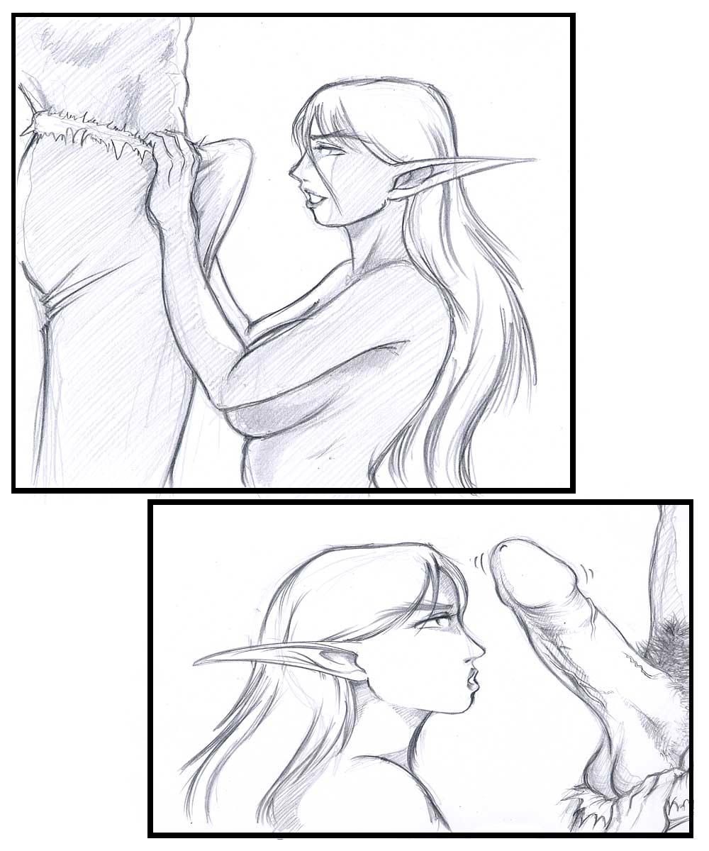 demon hunter night female elf Girlfriends 4 ever dlc 2