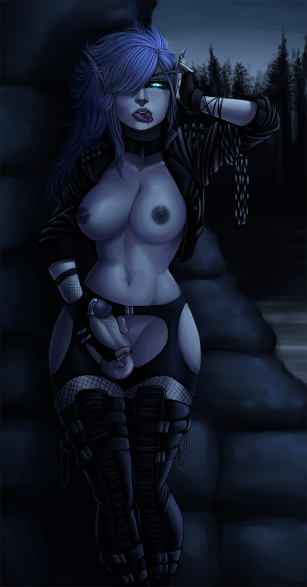 blood elf female death knight That time i got reincarnated as a slime xxx