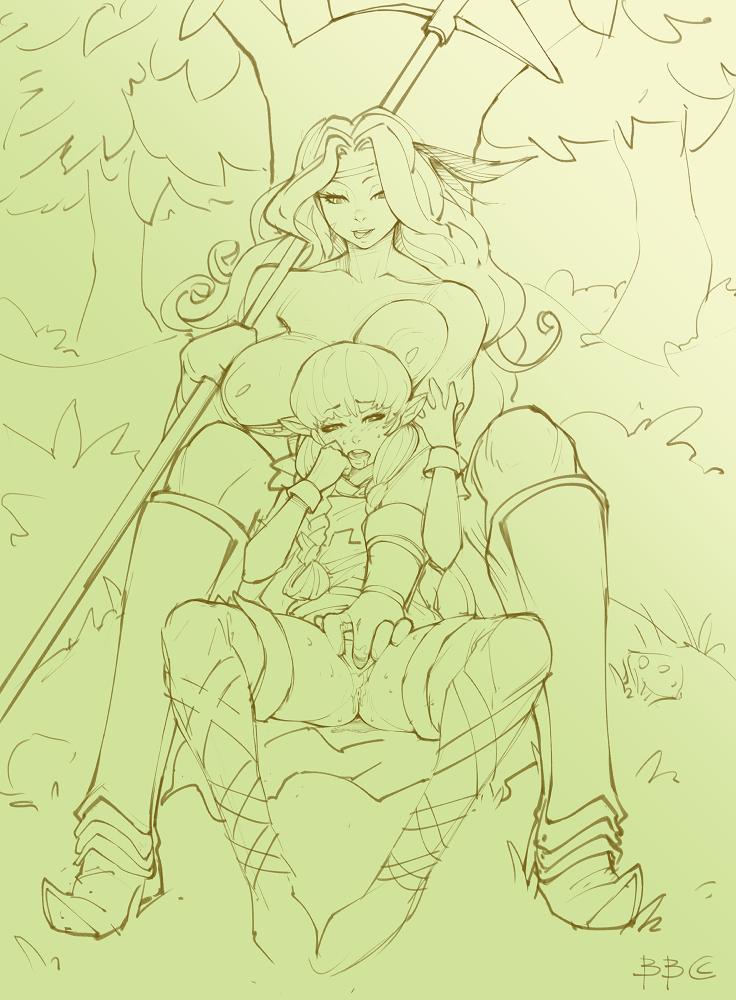 protectors: amazon's gotta diet running Monster girl encyclopedia mad hatter