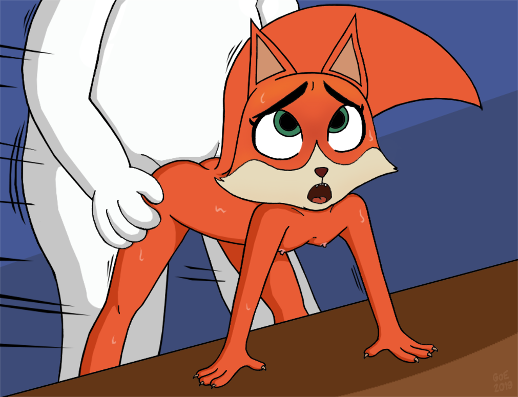 dotty along dog get gang Tails the fox