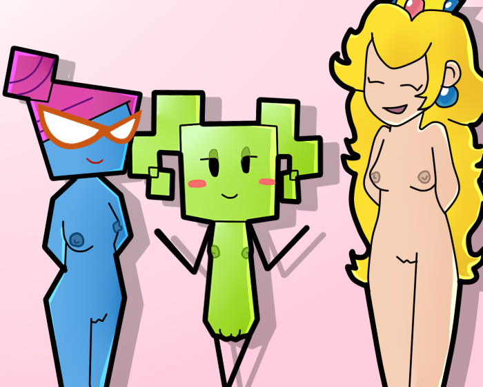 paper super mario Cock and ball torture gifs