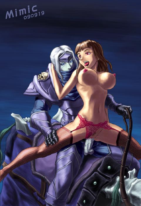 blood death elf female knight Ero manga! h mo manga mo step-up
