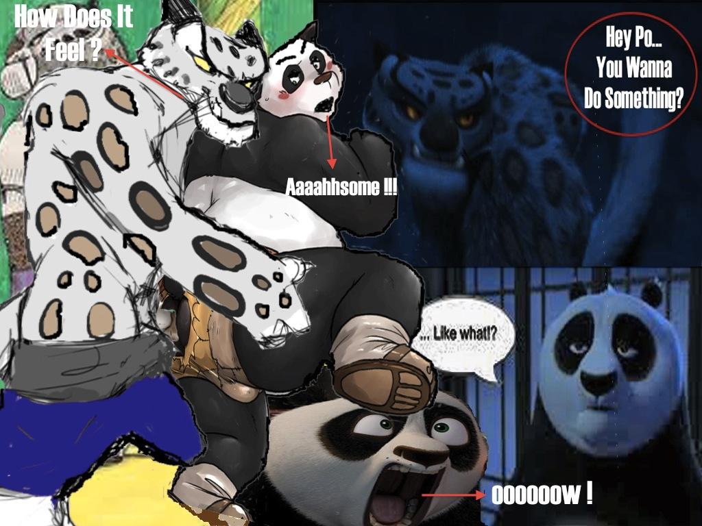 comic fu panda porn kung Daily life with a monster girl miia