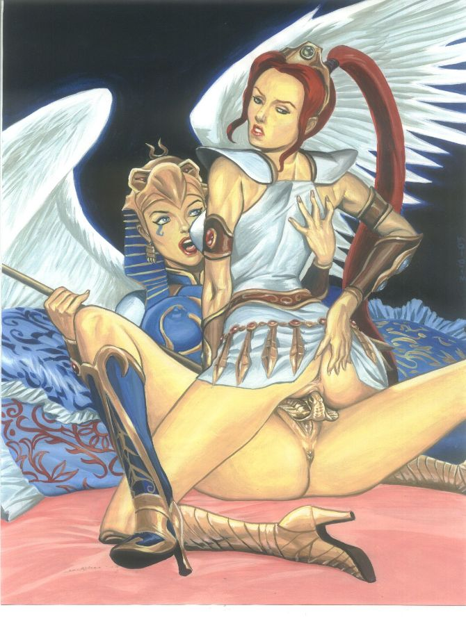 lady the warhammer of lake Teen titans gay porn comics