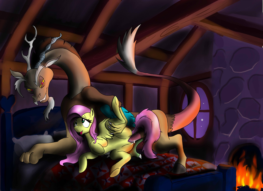 fanart and fluttershy discord mlp Danny phantom and desiree fanfiction