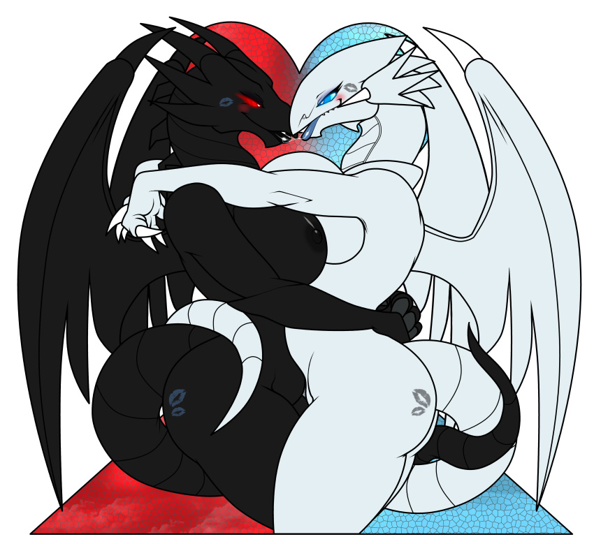 blue eyes dragon white toon Hey you get off of my cloud mario