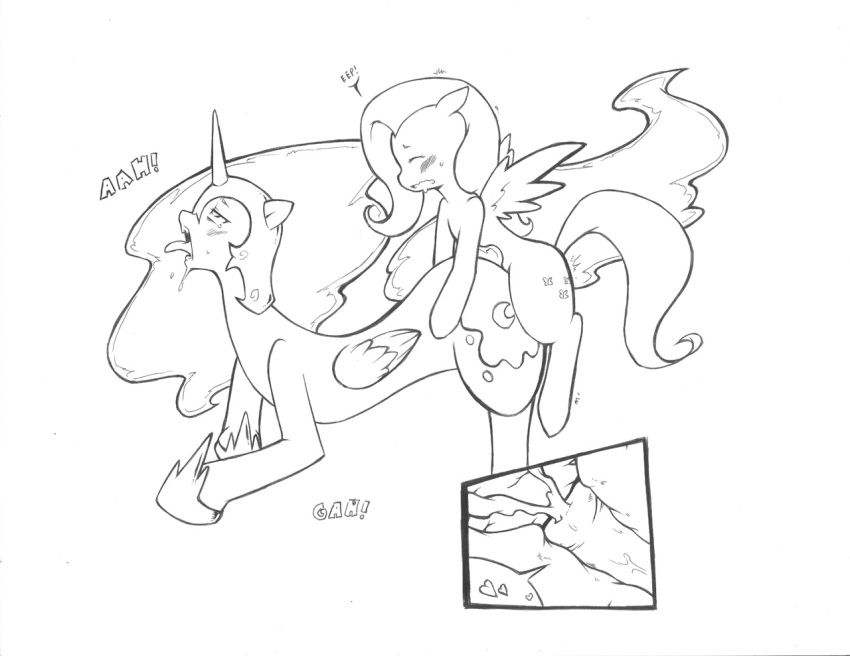 fluttershy discord fanart mlp and Emperors new groove