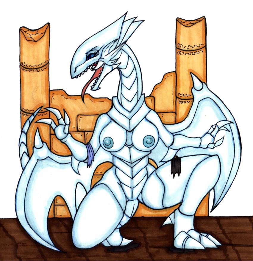 eyes toon dragon blue white World of warcraft female troll