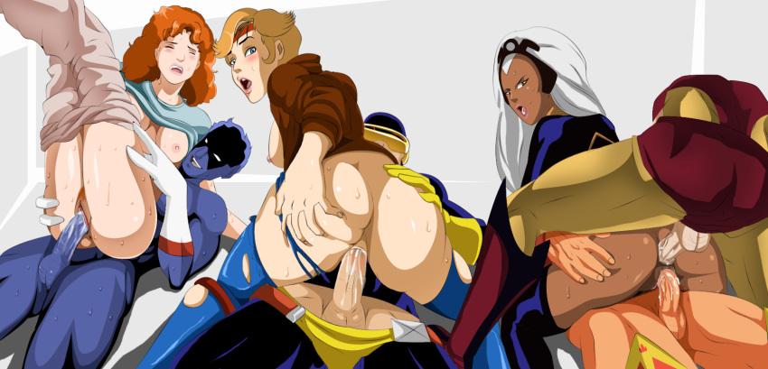 x-men dazzler jubilee The legend of zelda hentia