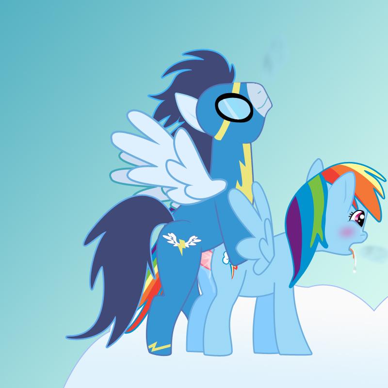pony soarin rainbow dash little and my Maid-san to boin