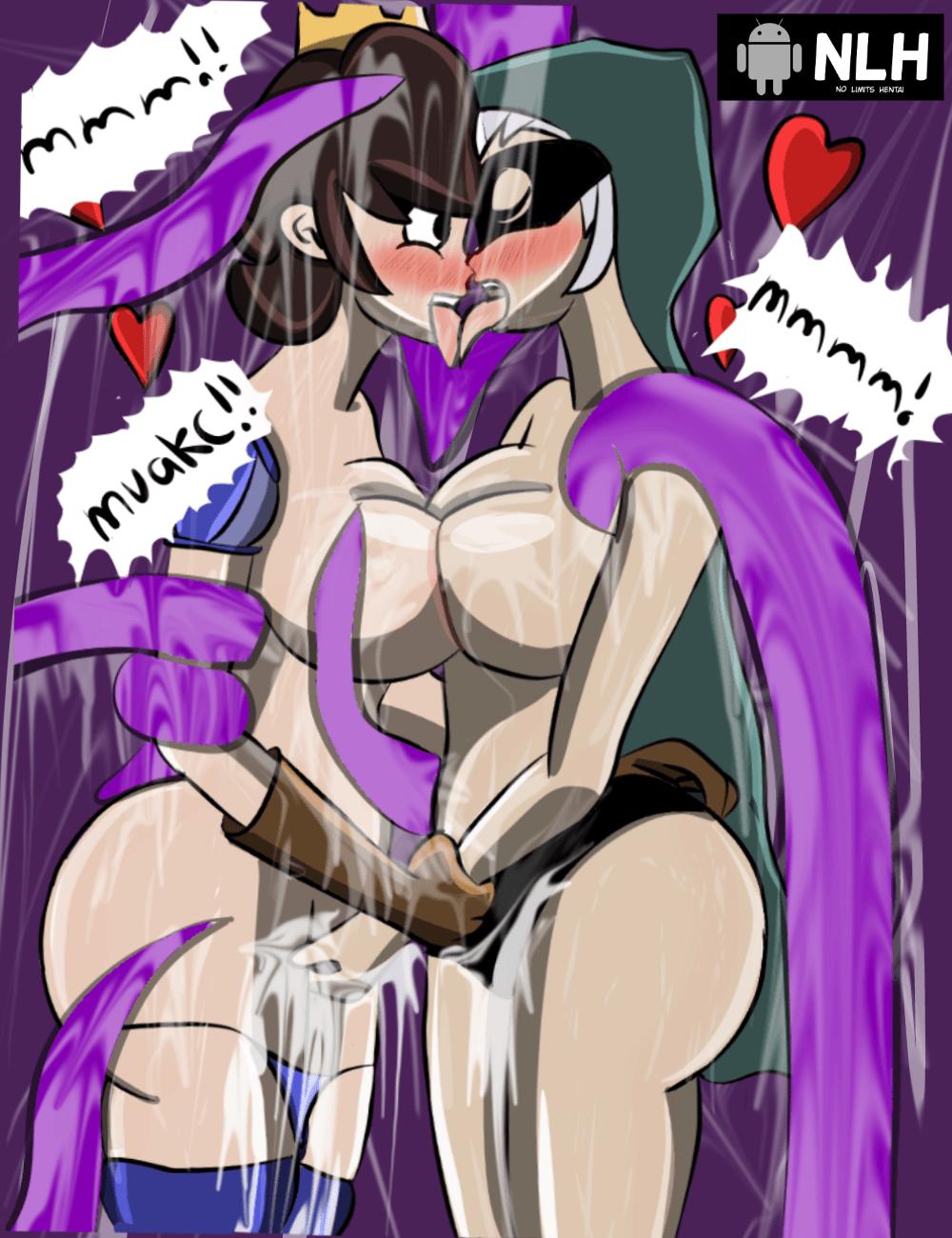 clash of dibujos de clans Monster girl reverse rape hentai