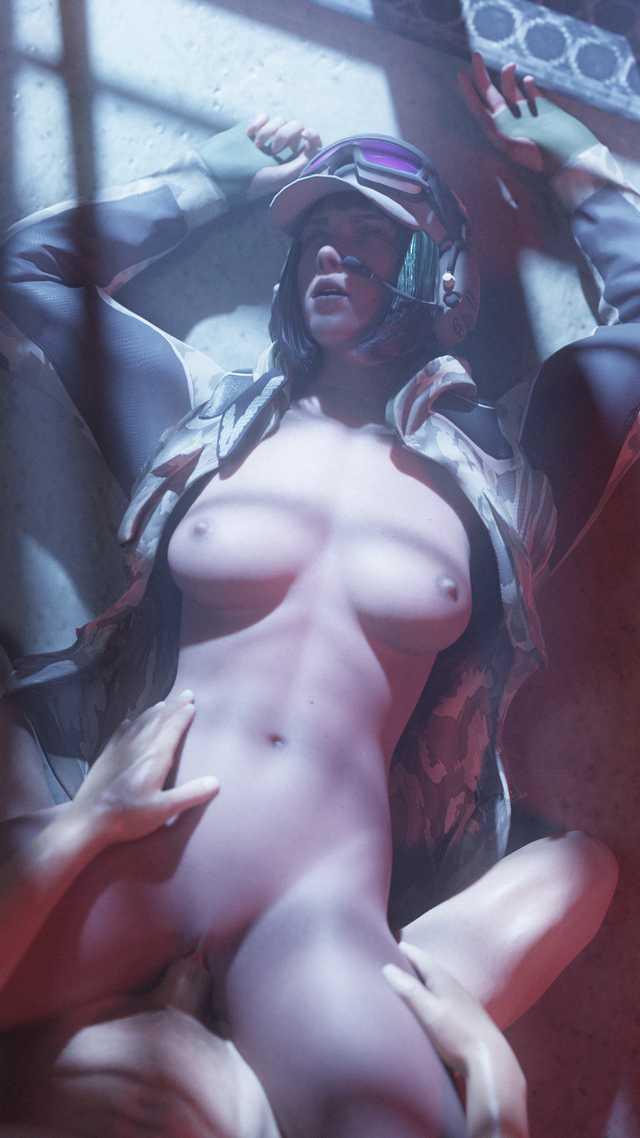 siege ela naked six rainbow Shark tale oscar and angie